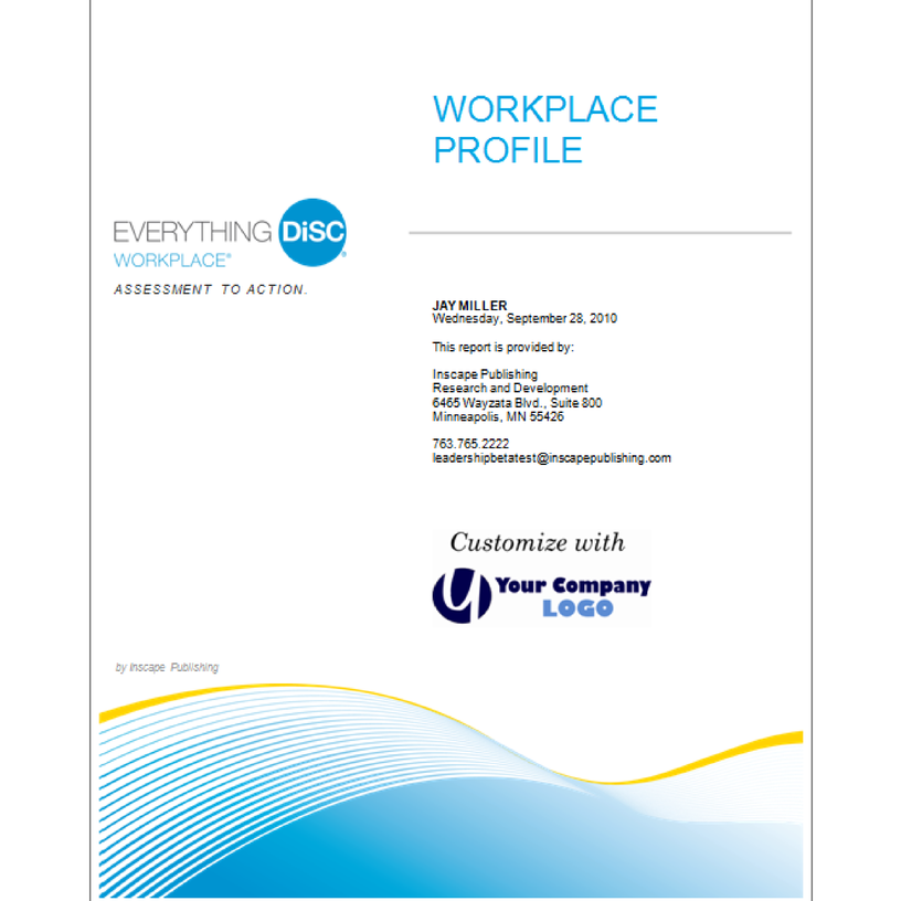 Everything Disc Workplace Profile French Disc Profile Canada