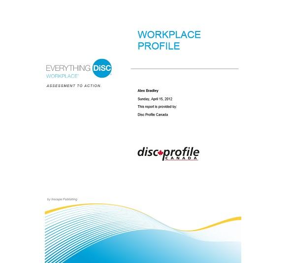 Workplace Profile