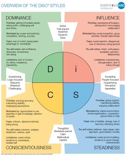 DiSC Profile Summary | DiSC Profile Canada