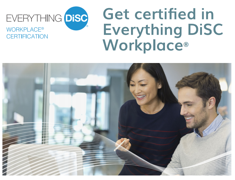 In House Workplace Certification Disc Profile Canada
